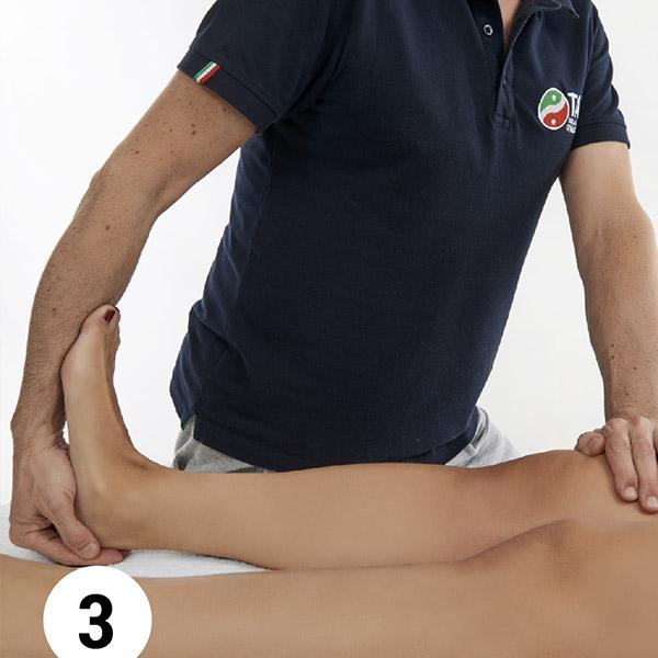 stretching passivo articolare